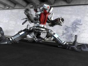 Robot bélico
