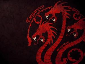 Sello de dragón de la familia Targaryen