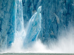 Postal: Trozo de un iceberg