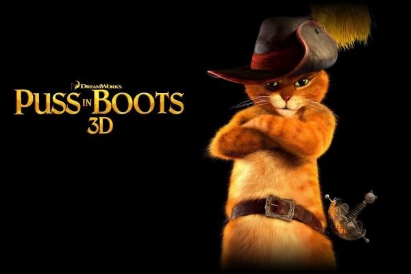 El gato con botas 3D