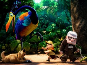 """Postal: Película """"Up"""" de Pixar"""