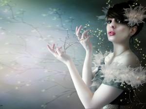 Postal: Belleza primaveral