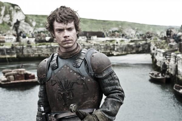 Theon Greyjoy, heredero de las Islas de Hierro