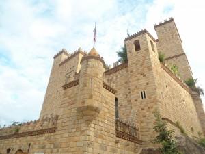 Postal: Castillo Lamas