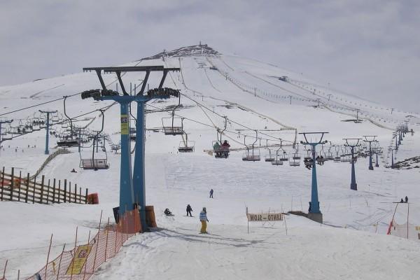 Cerro Castor, El Colorado