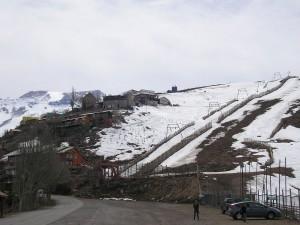 Farellones, centro de esquí