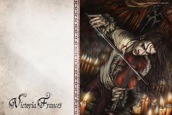 Violinista, de Victoria Francés