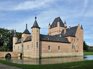 Postal: Castillo Bossenstein (Amberes, Bélgica)