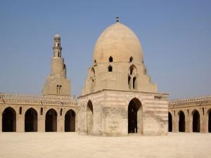 Postal: Mezquita Ibn Tulun, El Cairo