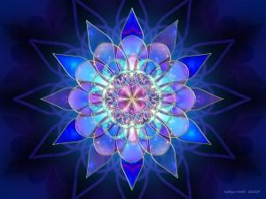 Flor de cristal