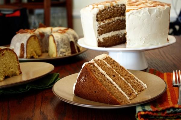 Tarta de zanahorias y bundt cake
