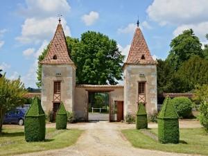 Postal: Logis de Chenard, Chavenat, Charente, Francia