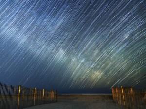 Rastros de estrellas