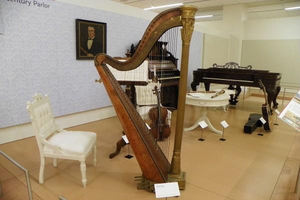 Exposición de instrumentos musicales