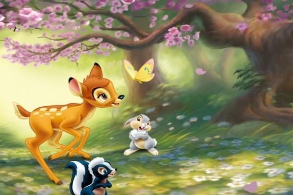 Bambi y sus amigos
