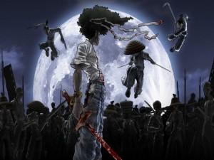 Postal: Afro Samurai