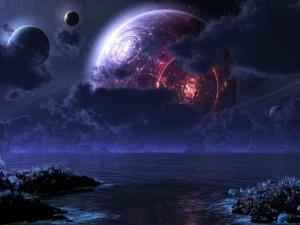 Un planeta desconocido