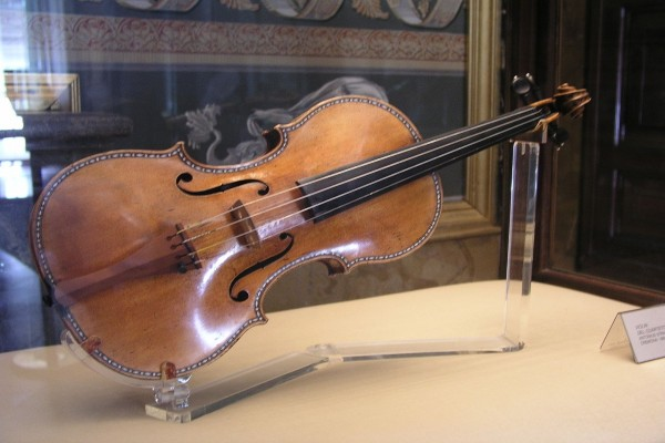El Stradivarius Español II, de la colección del Palacio Real de Madrid
