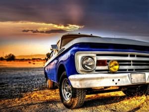 Postal: Vieja camioneta