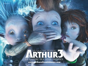 Arthur y la guerra de los dos mundos