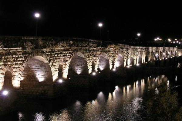 Puente romano de Mérida, España