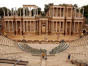 Teatro romano de Mérida (Badajoz, España)