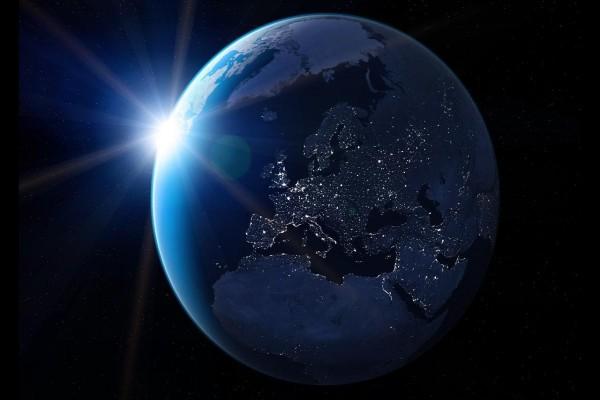La noche en la Tierra