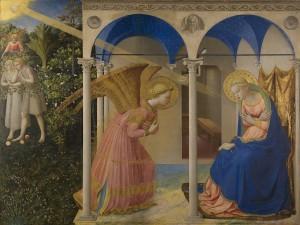 La Anunciación (1430-1432) de Fra Angelico