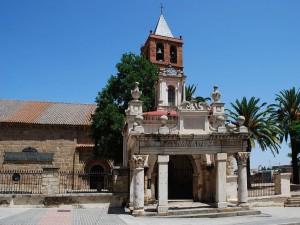 Postal: Basílica de Santa Eulalia en Mérida, Badajoz, España
