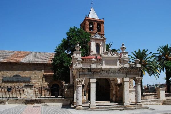 Basílica de Santa Eulalia en Mérida, Badajoz, España