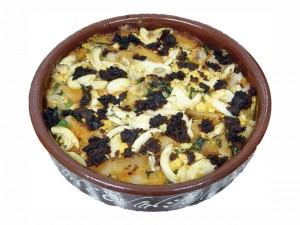 Postal: Sopa de antruejo, plato típico de Aceuchal