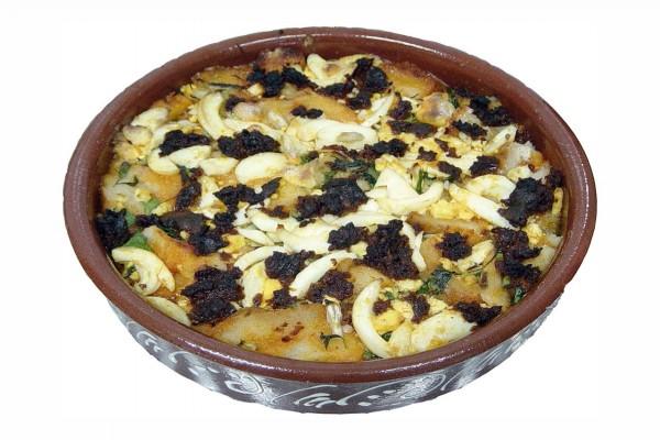 Sopa de antruejo, plato típico de Aceuchal