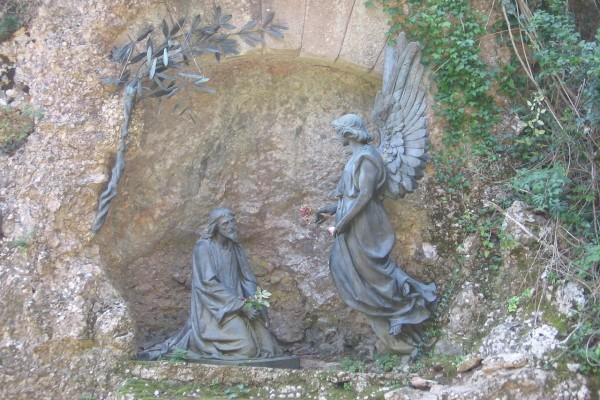 Rosario Monumental de Montserrat: Primer Misterio de Dolor