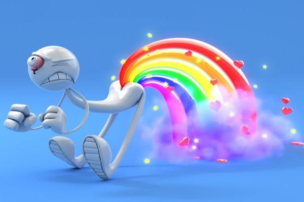 Sacando el arco iris