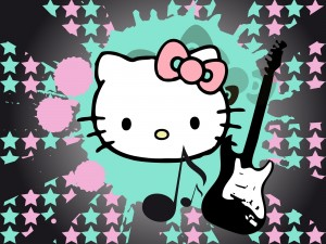 Postal: Hello Kitty musical