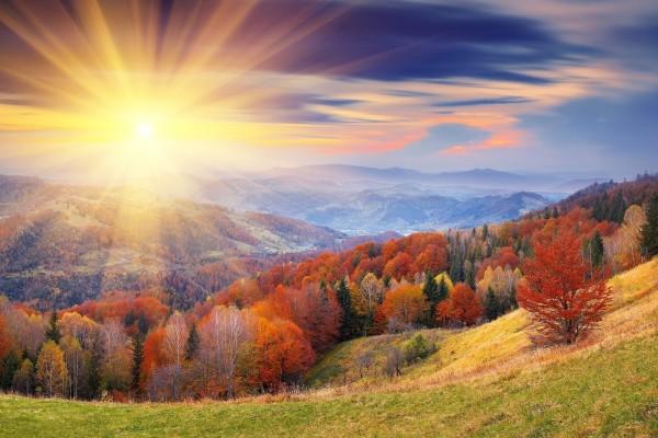 Luz en el paisaje