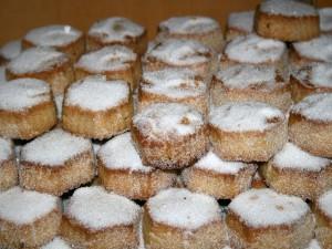 Pastas de almendra (Castilla y León, España)