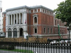 Postal: Casón del Buen Retiro (Madrid, España)