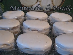 Mantecados de Portillo