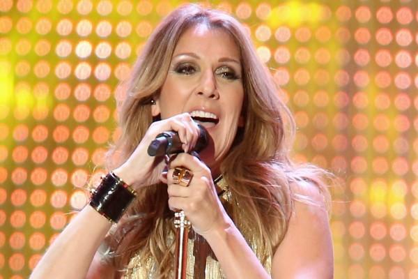 La cantante Céline Dion