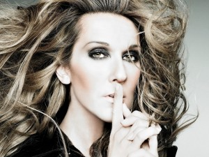 Postal: Céline Dion