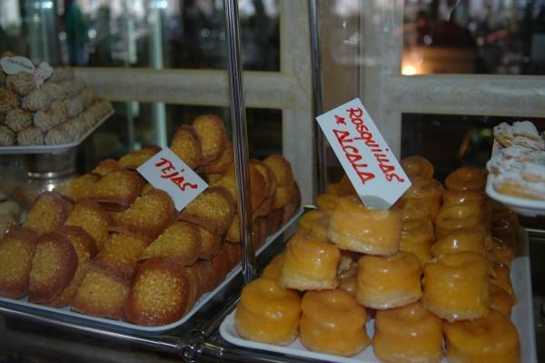 Dulces típicos de Alcalá de Henares (Madrid, España)
