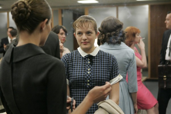 "Peggy Olson en ""Mad Men"""