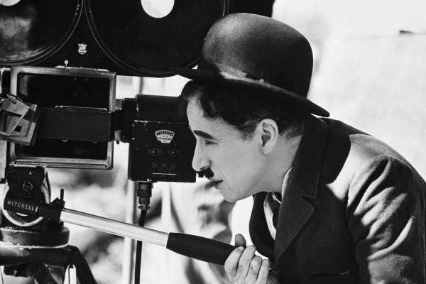 Charles Chaplin tras la cámara