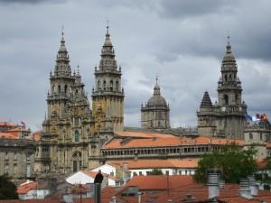 Postal: Catedral de Santiago de Compostela (Galicia, España)