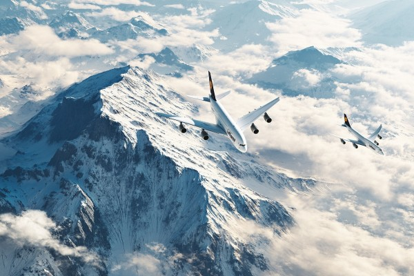Airbus A380 y Boeing 747-8