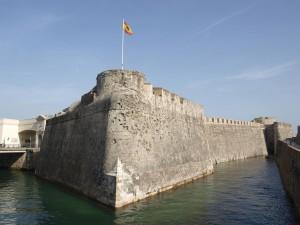 Murallas reales y foso de San Felipe (Ceuta, España)