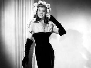 La actriz Rita Hayworth