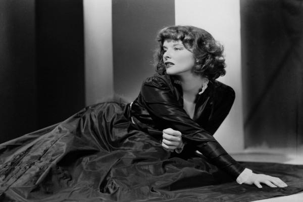La actriz Katharine Hepburn