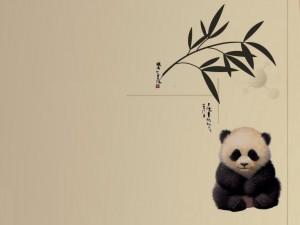 Postal: Osito panda